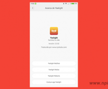App traducida Yeelight 2.2.02