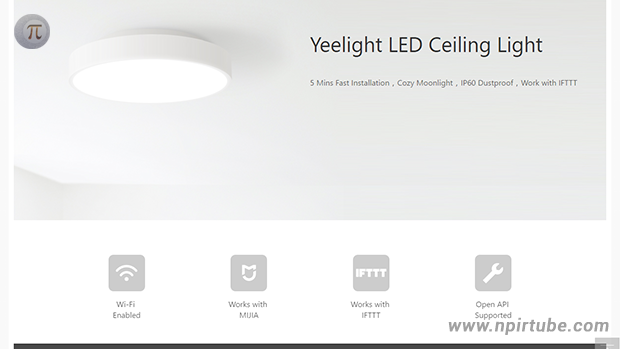 Yeelight Ceiling Light, el plafón LED según Xiaomi