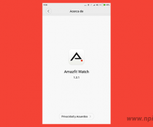 App traducida Amazfit Watch 1.3.1