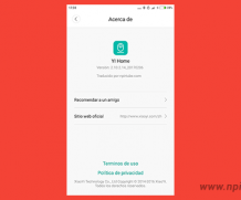 App traducida Xiaomi YI Home Camera 2.10.2.14