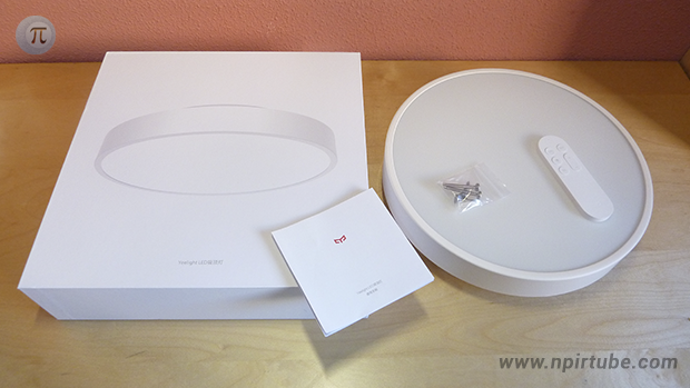 Review Yeelight Ceiling Light