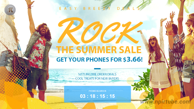Promoción Rock the Summer Sale en Gearbest