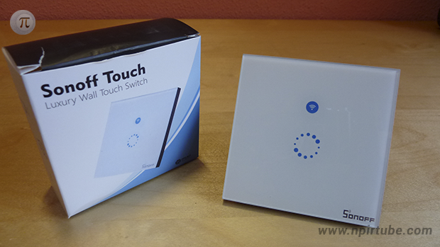 Review Sonoff Touch