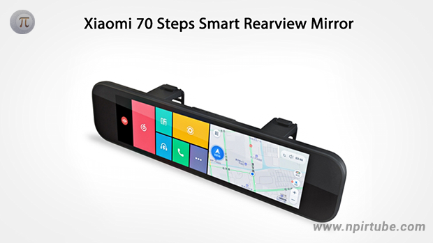Y por fin apareció el Xiaomi 70 Steps Smart Rearview Mirror