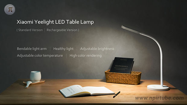 Nueva lámpara de escritorio Yeelight YLTD01YL LED Table Light