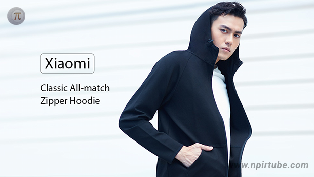 Xiaomi Classic All-match Zipper Long Sleeves Hoodie