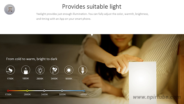 Yeelight Bedside Lamp WiFi