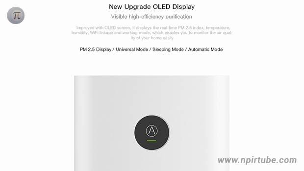 Xiaomi OLED Display Smart Air Purifier 2S