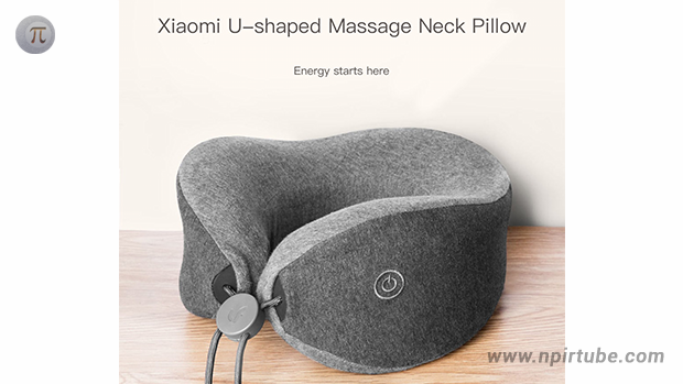 Multi-function U-shaped Massage Neck Pillow