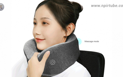 Descubre el Multi-function U-shaped Massage Neck Pillow por solo 25 euros