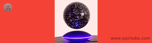 Creative Magnetic Suspended Globe Starry Dreamlike Decor
