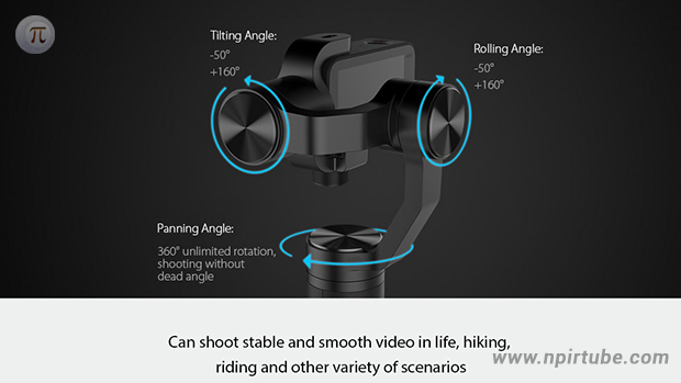 Xiaomi 3-axis Stabilization Brushless Handheld Gimbal