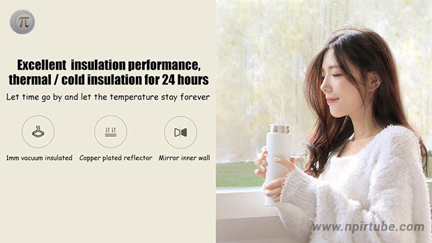 Xiaomi Simple Stainless Steel Thermal Water Bottle
