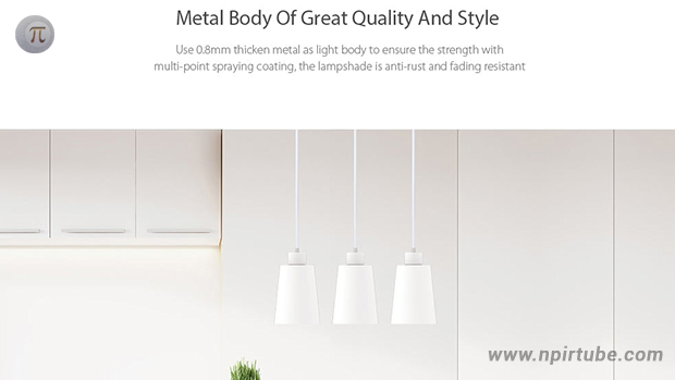 Yeelight JIAOYUE Minimalist Iron E27 Pendant Light