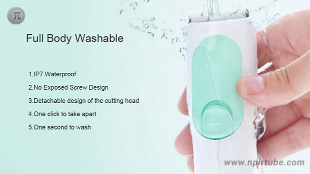 Yueli Waterproof Safe Electric Hair Clipper Razor