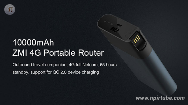 ZMI MF885 4G Portable WiFi Router