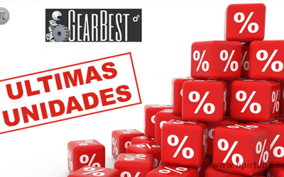 Ultimas Unidades Gearbest