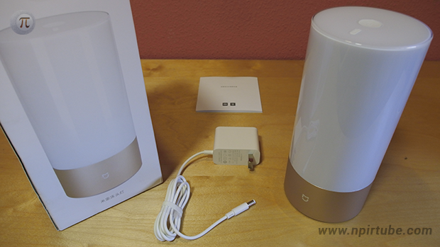 Review Xiaomi MiJia Bedside Lamp