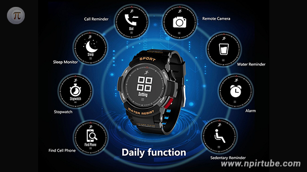 Smartwatch NO.1 F6
