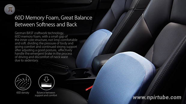 ROIDMI Soft Memory Foam Car Seat