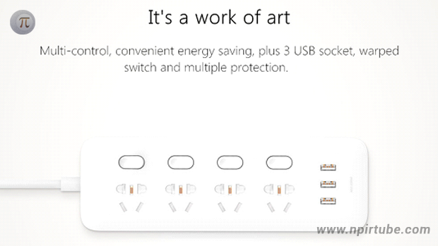 Xiaomi Intelligent Power Strip Socket