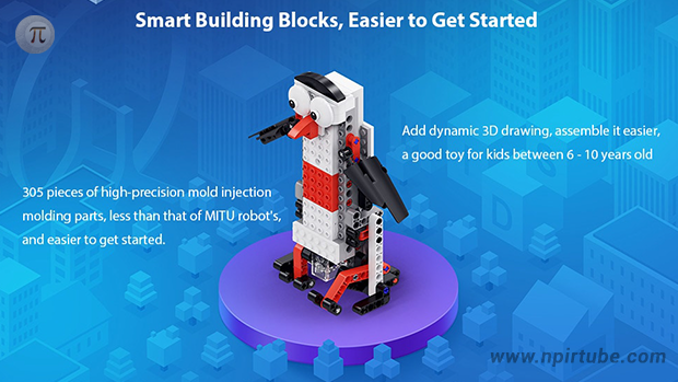 Xiaomi MITU Smart Building Blocks Robot