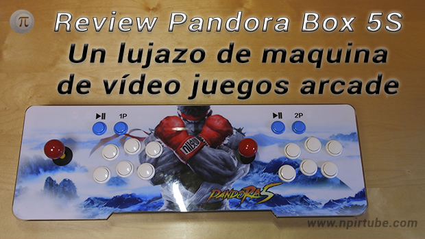 Review Pandora Box 5s Un Lujazo De Maquina De Video Juegos Arcade
