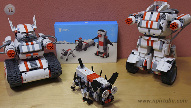Review Xiaomi MITU Penguin Smart Building Blocks Robot