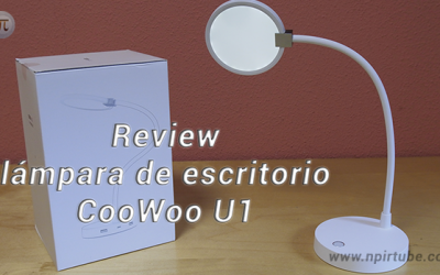 Review lámpara de escritorio CooWoo U1