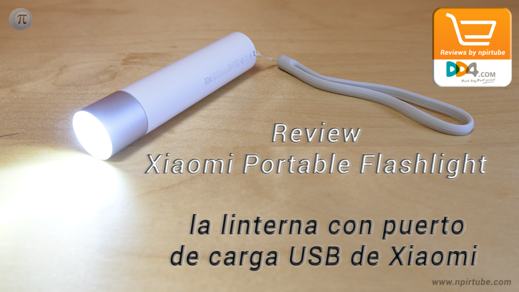 Review Xiaomi Portable Flashlight