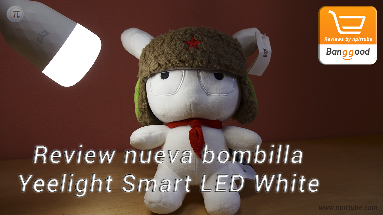 Review Yeelight Smart LED Bulb White