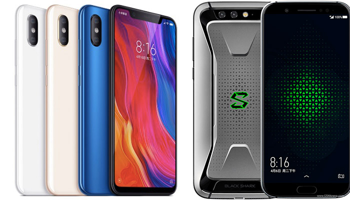 xiaomi mi 8 vs black shark
