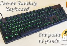 review teclado gaming xiaomi