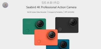 xiaomi mijia seabird 4k action camera