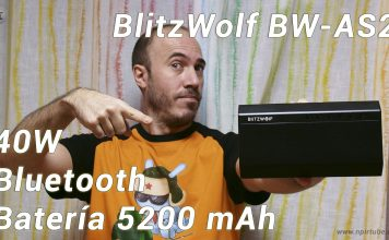 Review altavoz Blitzwolf BW-AS2