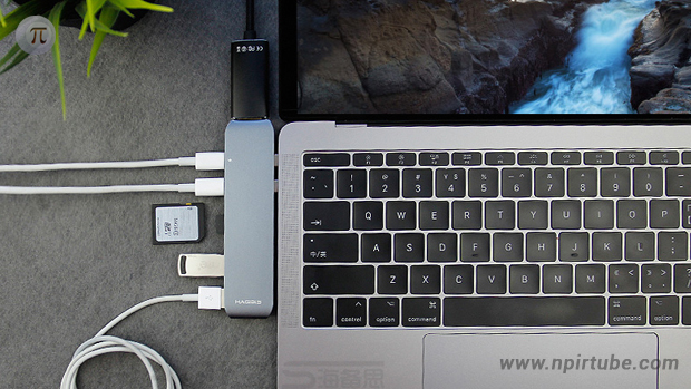 adaptador 7 en 1 Macbook Apple Hagibis xiaomi