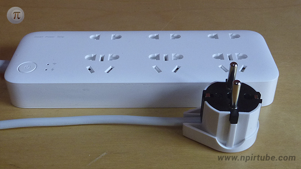 regleta inteligente xiaomi mi smart power strip