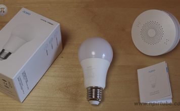 Bombilla xiaomi Aqara LED Light Bulb ZNLDP12LM