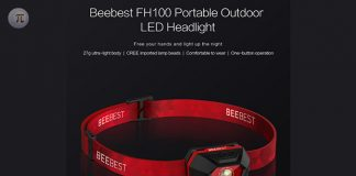 frontal LED Xiaomi MiJia Beebest fh100