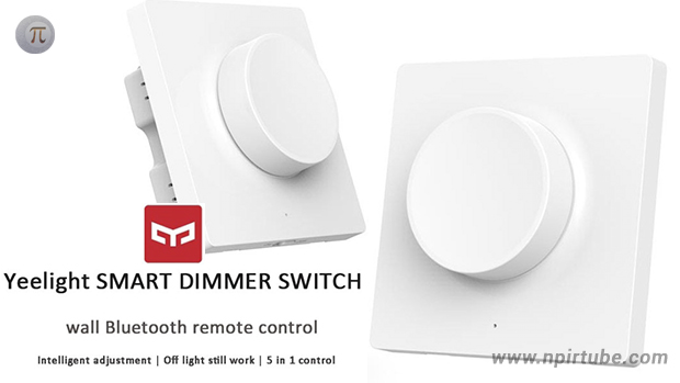 dimmer xiaomi yeelight smart dimmer swith