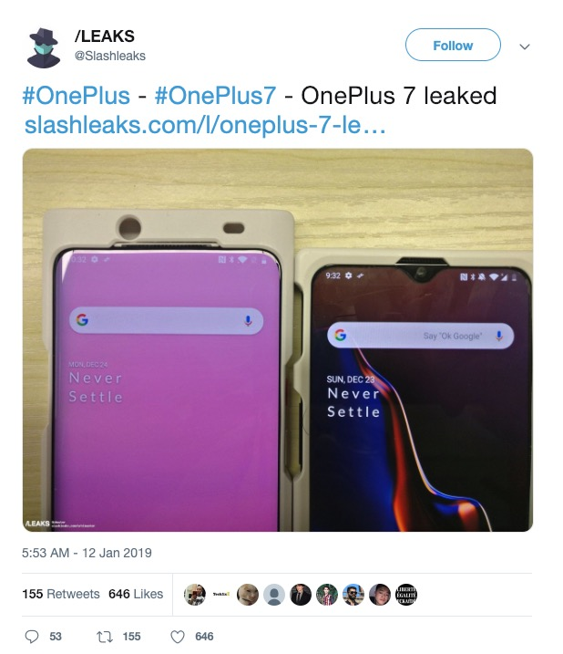 posible oneplus 7