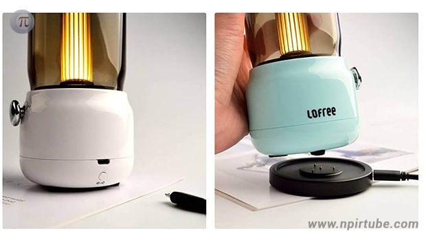 lámpara retro Lofree Candly Ambient Lamp