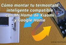 termostato wifi inteligente Xiaomi google home