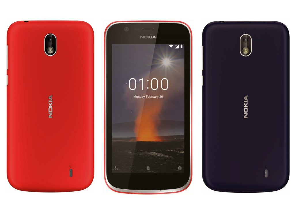 nokia 1 moviles android go