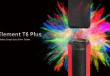 altavoz bluetooth Element T6 Plus