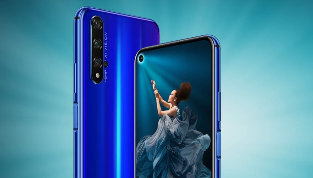 Especificaciones del Honor 20
