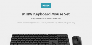 Wireless Mouse Keyboard Set MIIIW